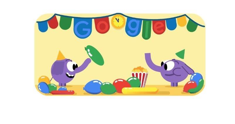 Google Doodle hari ini.