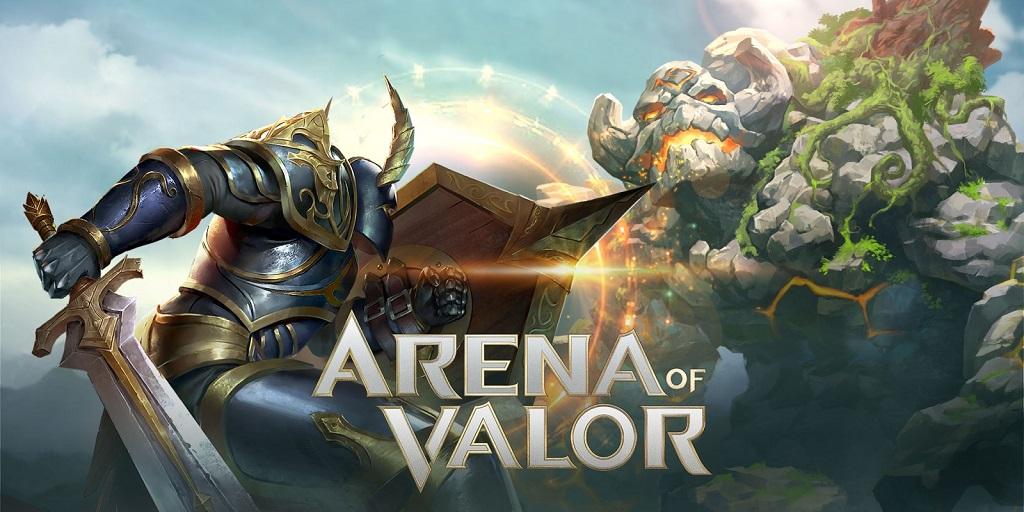 Tencent mendapatkan penghasilan dari game seperti Arena of Valor.