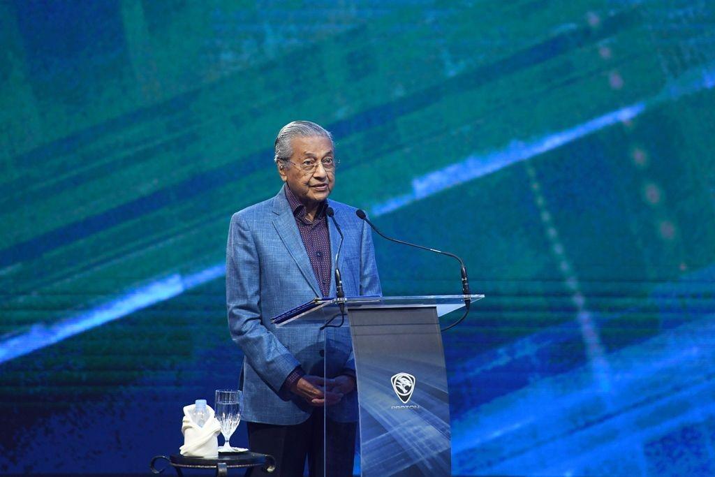 PM Malaysia Mahathir Mohamad. (Foto: AFP)