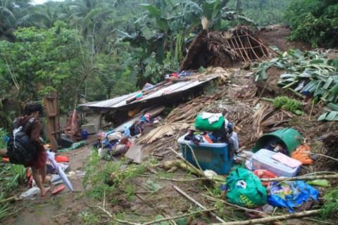 39 Orang Tewas Akibat Tanah Longsor di Filipina