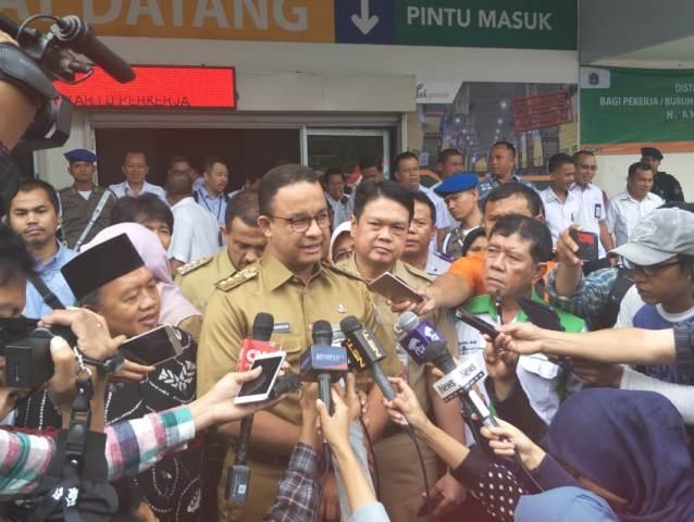 Gubernur DKI Jakarta Anies Baswedan--Medcom.id/Nur Azizah