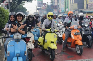 Fun Riding Scooter, Kegiatan Pamungkas Kutu Community Di 2018