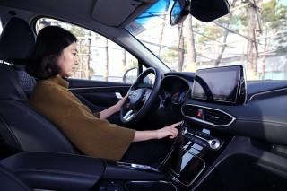 Hyundai Santa Fe 2019, Hidupkan Mesin dengan Sidik Jari