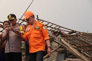 Balita Jadi Korban Puting Beliung Cirebon