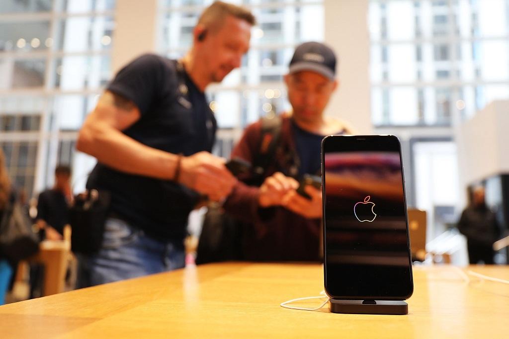 Apple iPhone XS Max. (Spencer Platt/Getty Images/AFP)