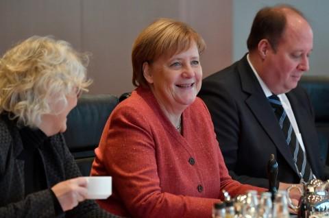 Merkel Ingin Jerman Lebih Berperan di Level Global