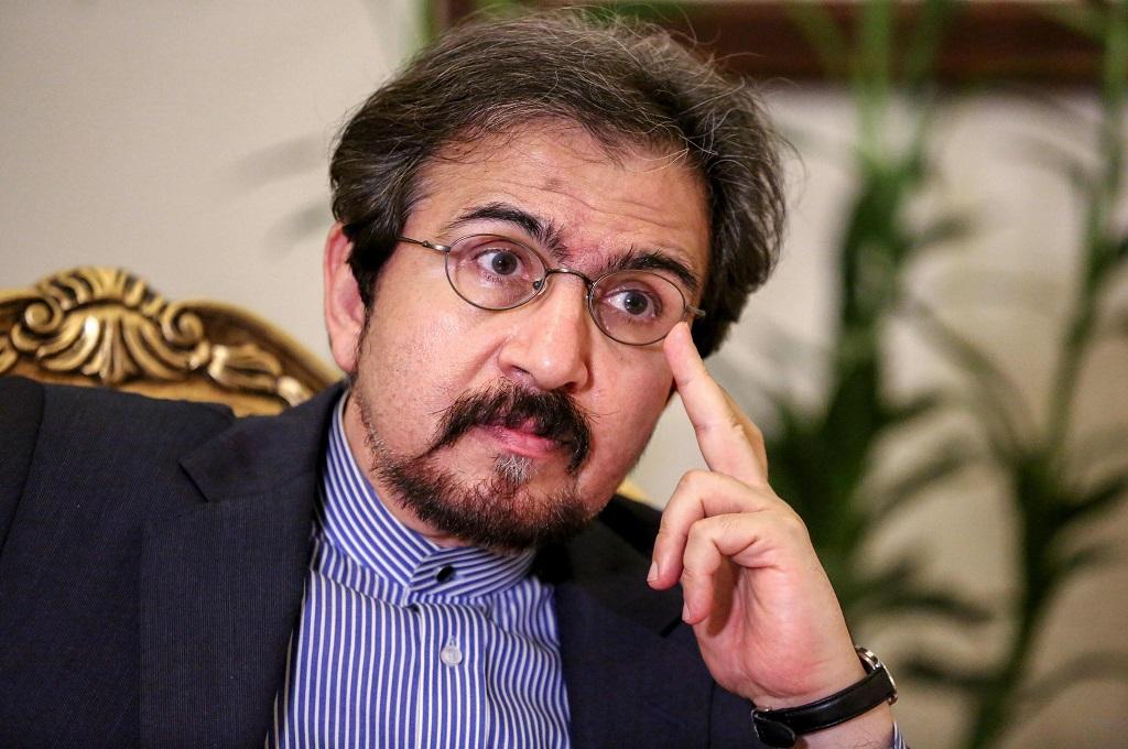 Jubir Kemenlu Iran Bahram Ghasemi di Teheran, 2 Oktober 2018. (Foto: AFP/ATTA KENARE)