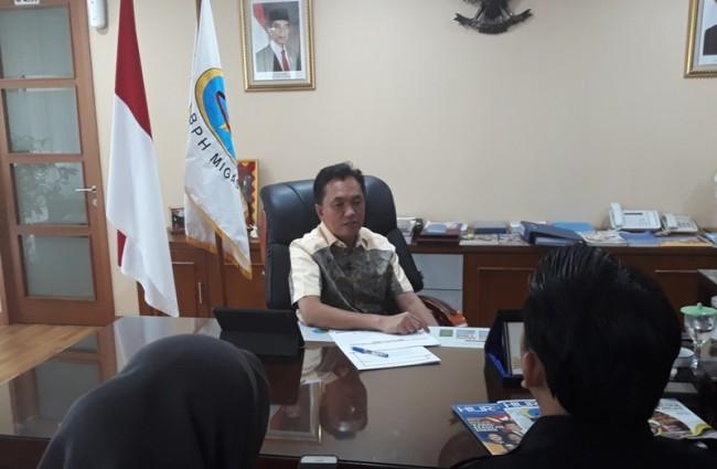 Kepala BPH Migas Fanshurullah Asa. Medcom/Arif.