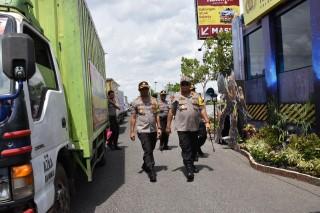 Ratusan Polisi Disebar di Pusat Keramaian Sidoarjo