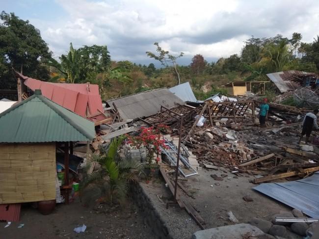 Bencana Palu. Dok : AFP.