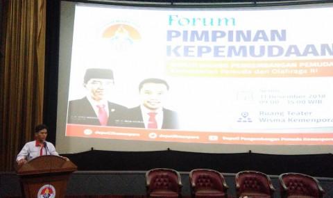Tutup 2018, Kemenpora Gelar Forum Pimpinan Kepemudaan
