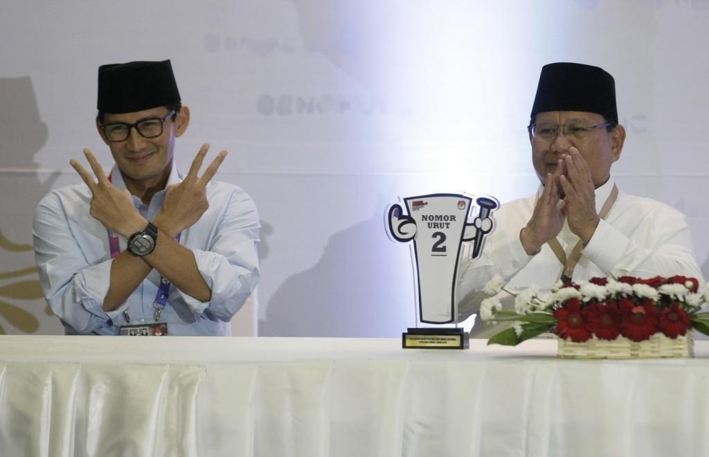 Prabowo Subianto-Sandiaga Uno. MI/Ramdani