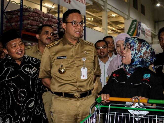 Gubernur DKI Jakarta Anies Baswedan. Foto: Antara/Putra Haryo Kurniawan.