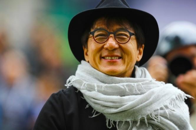 Bintang film Hong Kong Jackie Chan terkenal dengan film laganya. (Foto: AFP).