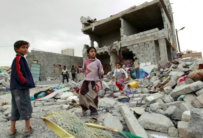 Anak-anak di Yaman paling menderita akibat perang yang melanda. (Foto: AFP).