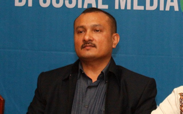 Ketua DPP Demokrat Ferdinand Hutahaean/MI/Bary Fathahilah
