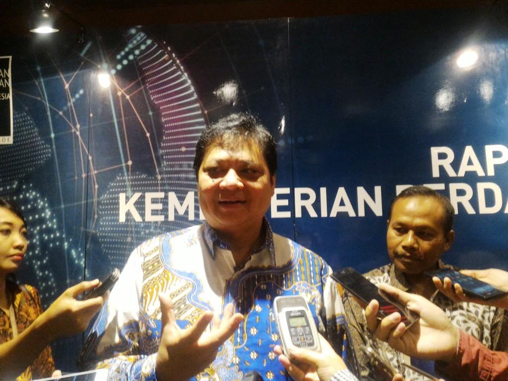 Menteri Perindustrian Airlangga Hartarto. (FOTO: Medcom.id/Eko Nordiansyah)