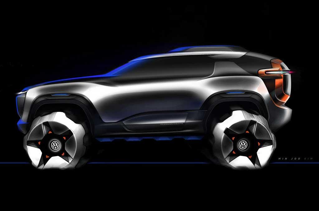 ?Volkswagen T-Rug concept. Carscoops