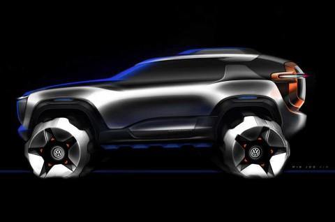 Volkswagen T-Rug, Bakal Pesaing Land Rover Defender?