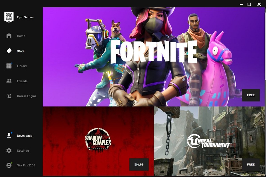 Fortnite jadi game andalan buatan Epic Games di platform mereka.