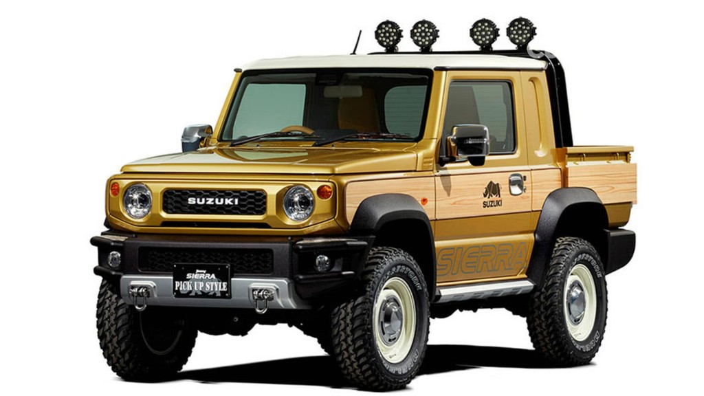 All New Suzuki Jimny Sierra Pick-up Style. Suzuki