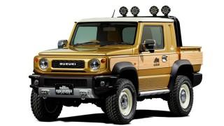 Suzuki Siap Boyong Jimny Sierra Pikap Bergaya Petuang di TAS