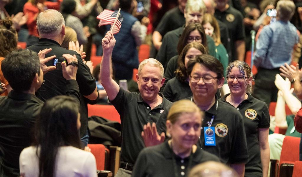 New Horizons sukses terbang melewati Ultima Thule. (Photo by NASA/Joel Kowsky / NASA / AFP)