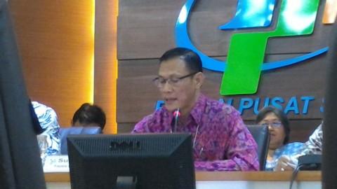 Kepala BPS Suhariyanto - - Foto: Medcom.id/Husen Miftahudin