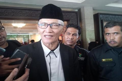 Penjabat (Pj) Rais Aam Pengurus Besar Nahdlatul Ulama (PBNU) Miftachul Akhyar - Medcom.id/Amaluddin,
