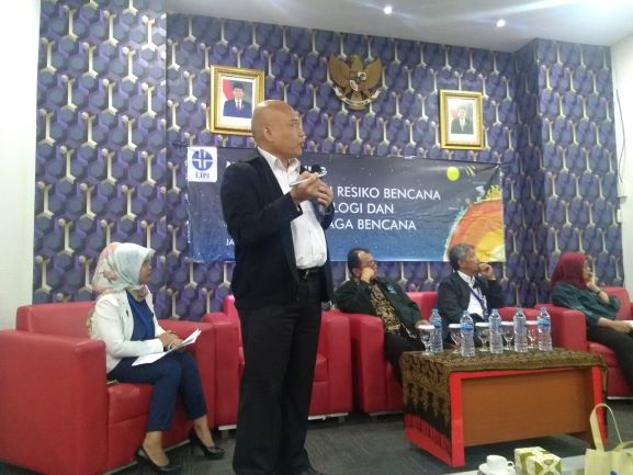 Kepala Pusat Penelitian Geoteknologi LIPI, Eko Yulianto, Medcom.id/Kautsar Widya Prabowo.