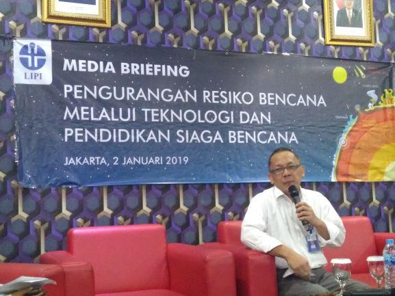 Kepala LIPI Laksana Tri Handoko, Medcom.id/Kautsar Widya Prabowo.