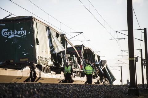 Enam Orang Tewas dalam Kecelakaan KA Denmark