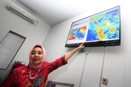 Kepala Badan Meteorologi Klimatologi dan Geofisika (BMKG) Dwikorita Karnawati. Foto: Antara/Andreas Fitri Atmoko.