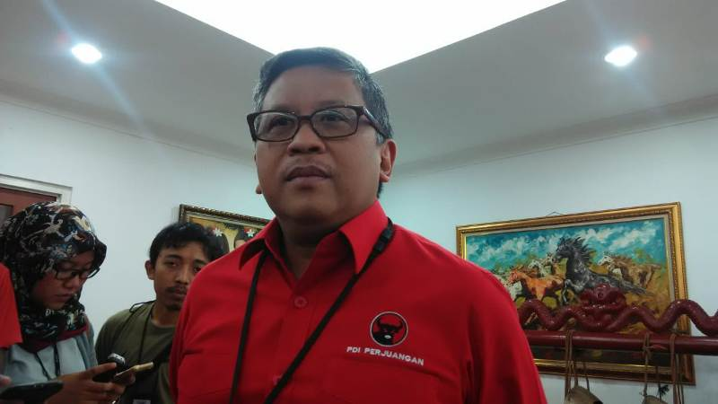 Sekretaris TKN KIK Hasto Kristiyanto/Medcom.id/Fachri Audhia Hafiez
