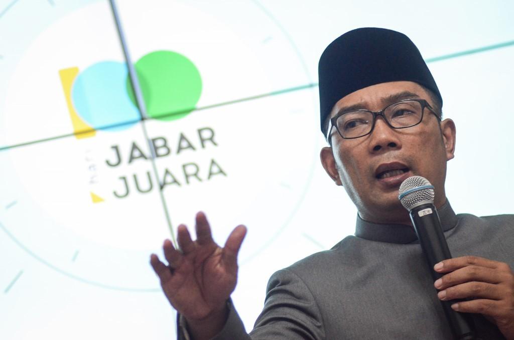 Gubernur Jawa Barat Ridwan Kamil. (Foto: ANTARA/Raisan Al Farisi)