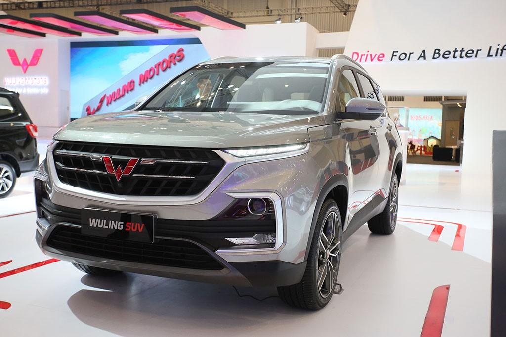 SUV konsep dari Wuling Motors di GIIAS 2018. Wuling Motors