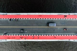Jembatan Musi IV Mulai Diuji Coba