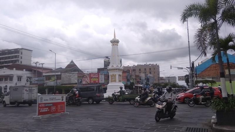 Ilustrasi. Bangunan tugu di wilayah Kota Yogyakarta. Medcom.id-Ahmad Mustaqim