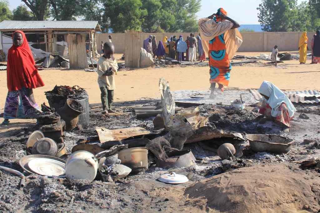Salah satu serangan bom yang dilakukan Boko Haram di Niger. (Foto: AFP)