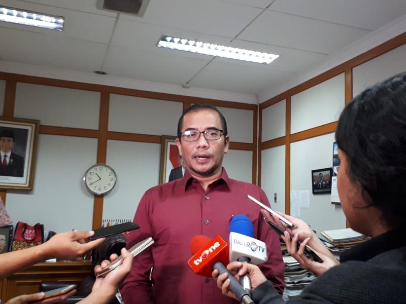 Komisioner KPU Hasyim Asyari/Medcom.id/Faisal Abdalla