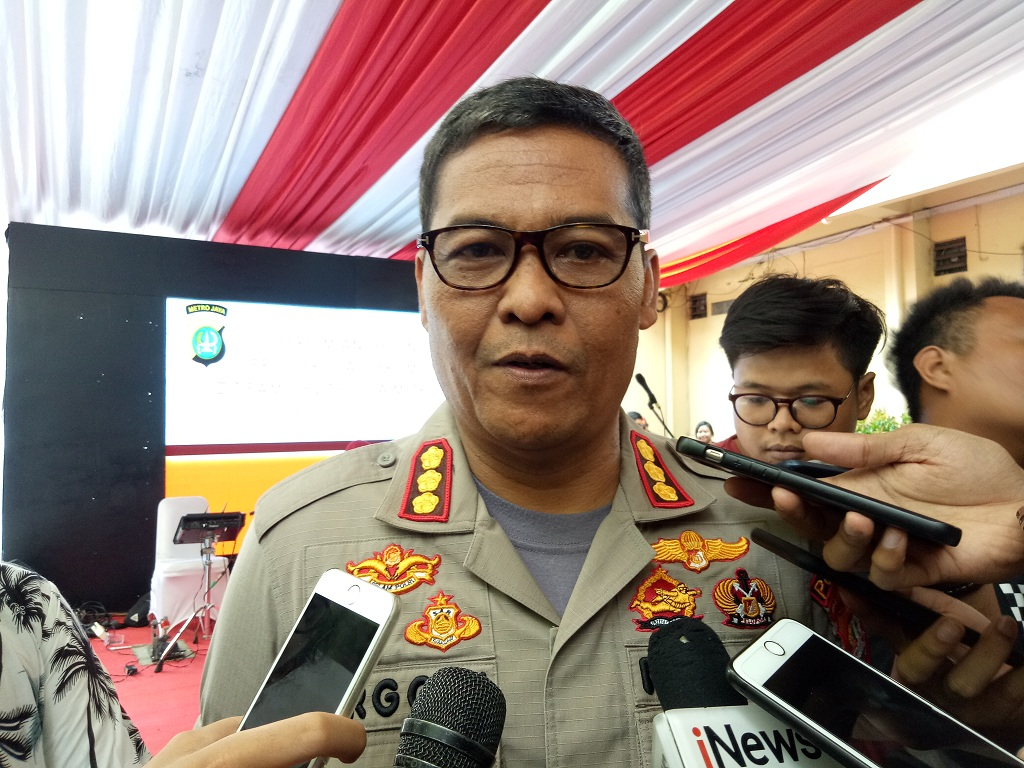 Ketua Tim Media Satgas Antimafia Bola Kombes Argo Yuwono - Medcom.id/Siti Yona Hukmana.