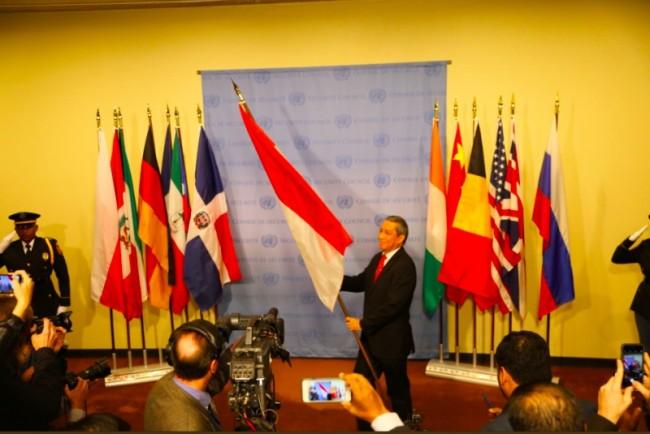 Indonesian Permanent Representative to the United Nations Dian Triansyah Djani (Photo:PTRI New York)