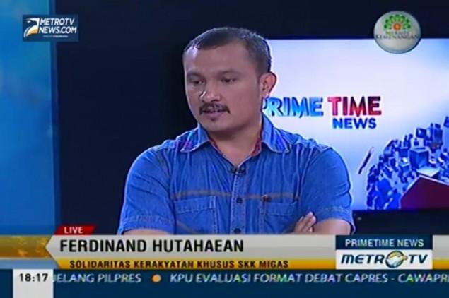 Ketua DPP Partai Demokrat Ferdinand Hutahaean - Metro TV.