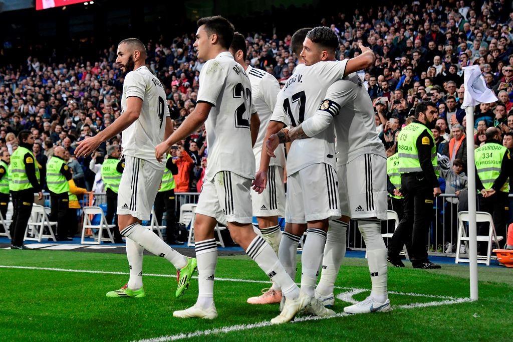 Skuat Real Madrid (AFP/JAVIER SORIANO)
