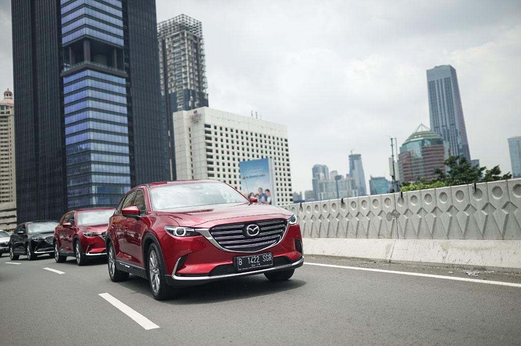 Terdapat teknik eco driving ketika memulai perjalanan. Mazda