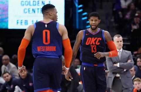 Hasil NBA Hari Ini: George dan Westbrook Gemilang, Thunder Petik Kemenangan di Markas Lakers