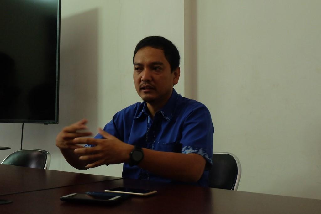 CEO PSIS Semarang, Yoyok Sukawi. (Foto: medcom.id/Budi Arista Romadhoni)