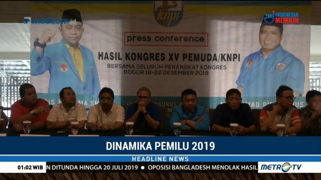 Kongres XV KNPI. Foto: Metro TV
