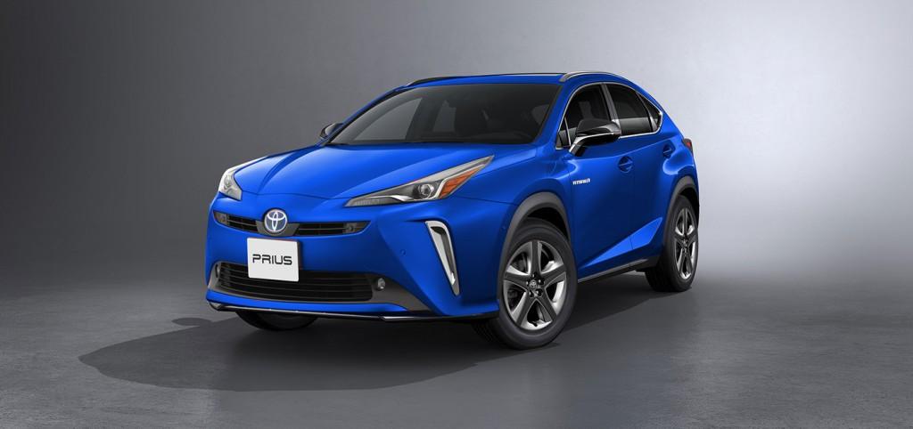 Desain Prius versi SUV dari Kleber Silva. SoftNews.net