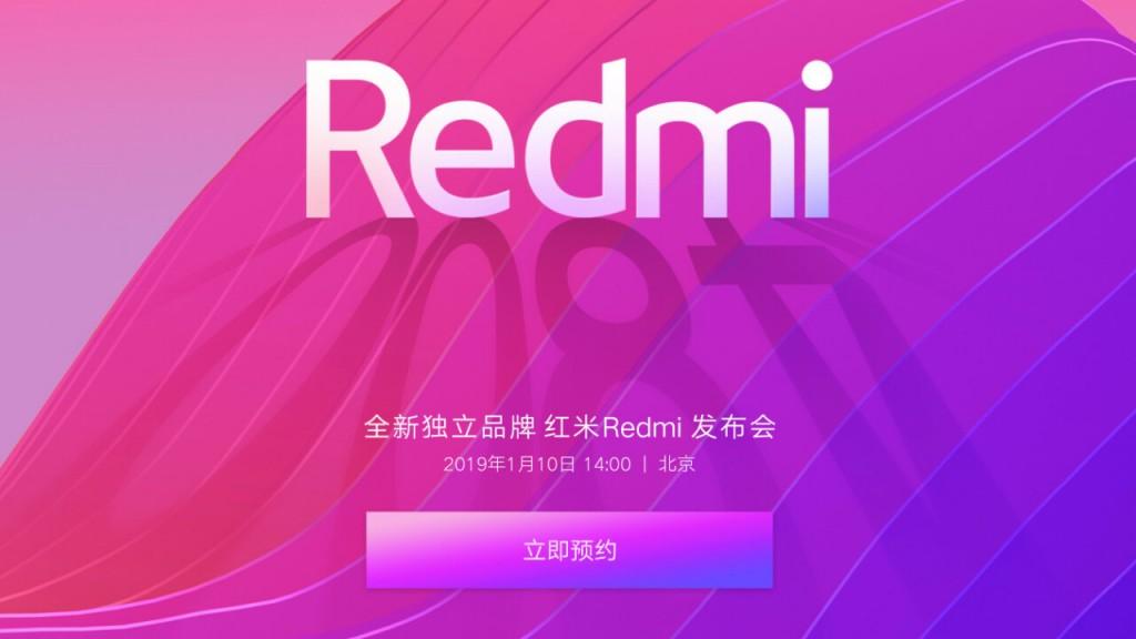 Situs Xiaomi menampilkan tanggal peluncuruan smartphone sub-brand Redmi.